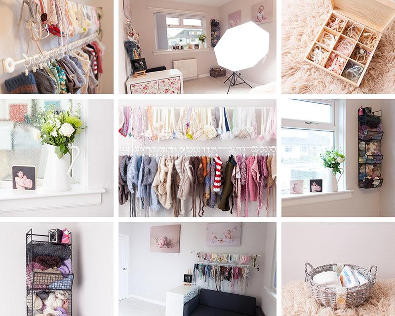 Edinburgh baby photography studio