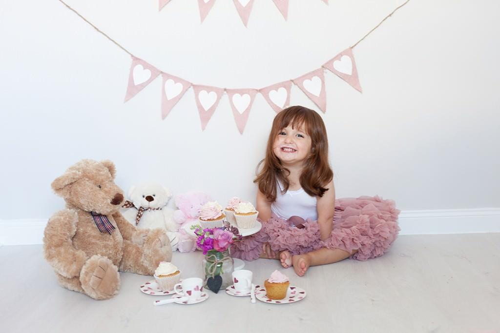 Eliza's birthday tea party photo shoot