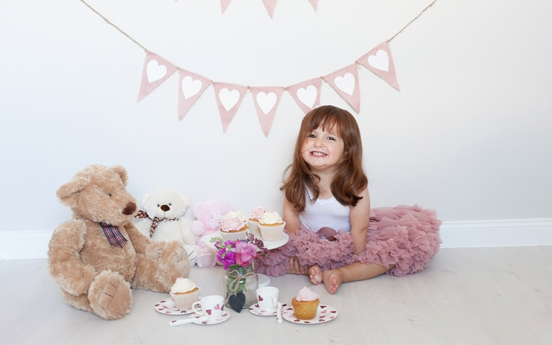 Eliza's birthday tea party photo shoot