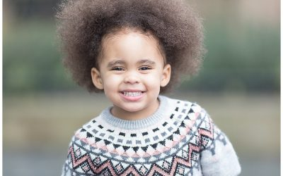 Relaxed outdoor kids photoshoot with adorable Amiyah