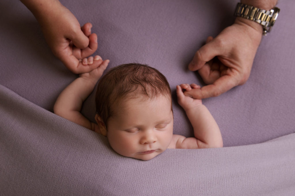 A newborn photoshoot during a global pandemic